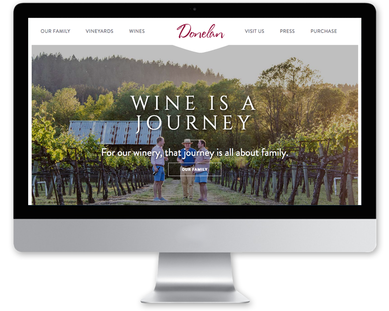 Donelan Wines website