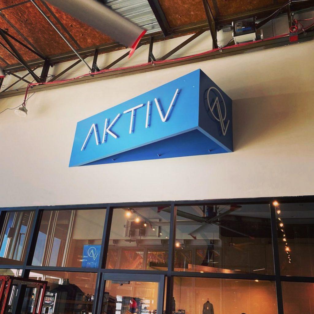AKTIV sign