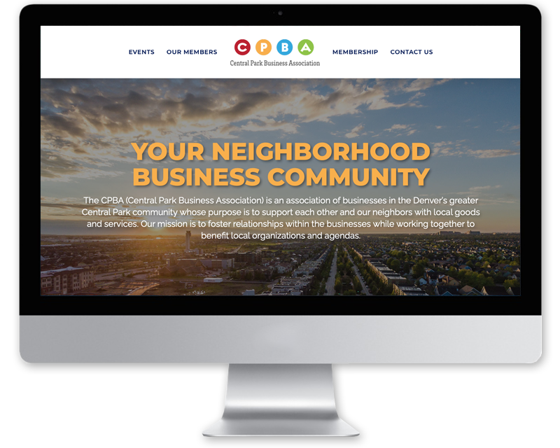 CPBA • website design