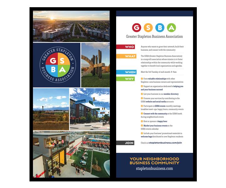 GSBA • brochure design