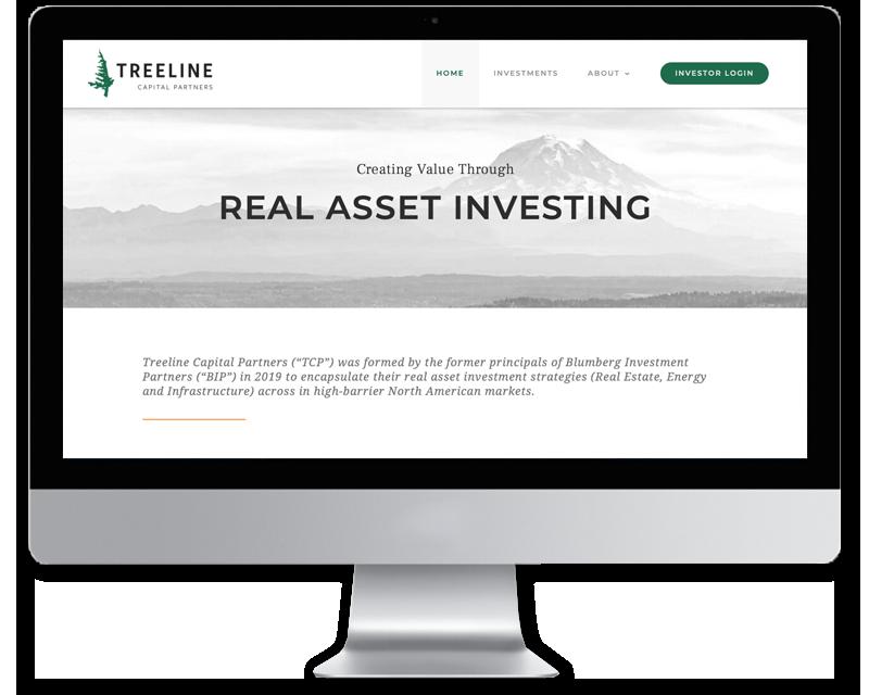 Treeline Partners • Website Design
