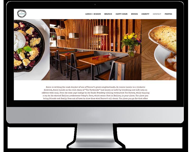 Acova • Web Design