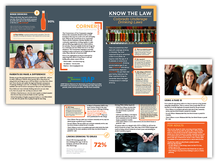 Know the Law • Brochure Design