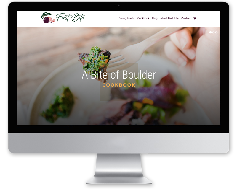 First Bite • website design