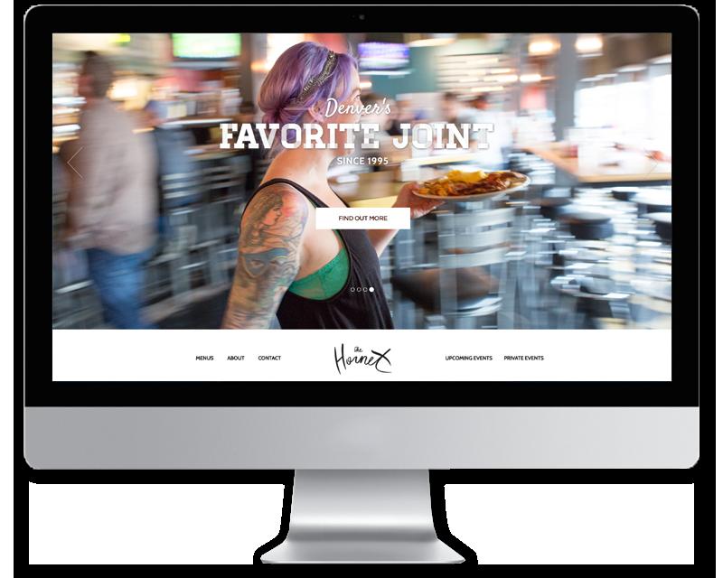 The Hornet • Web Design