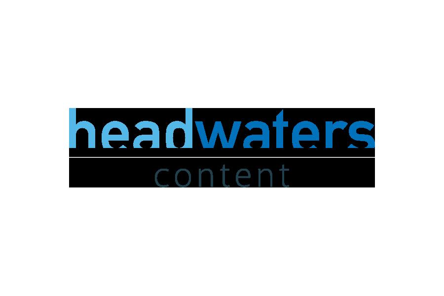 Headwaters Content • Logo Design