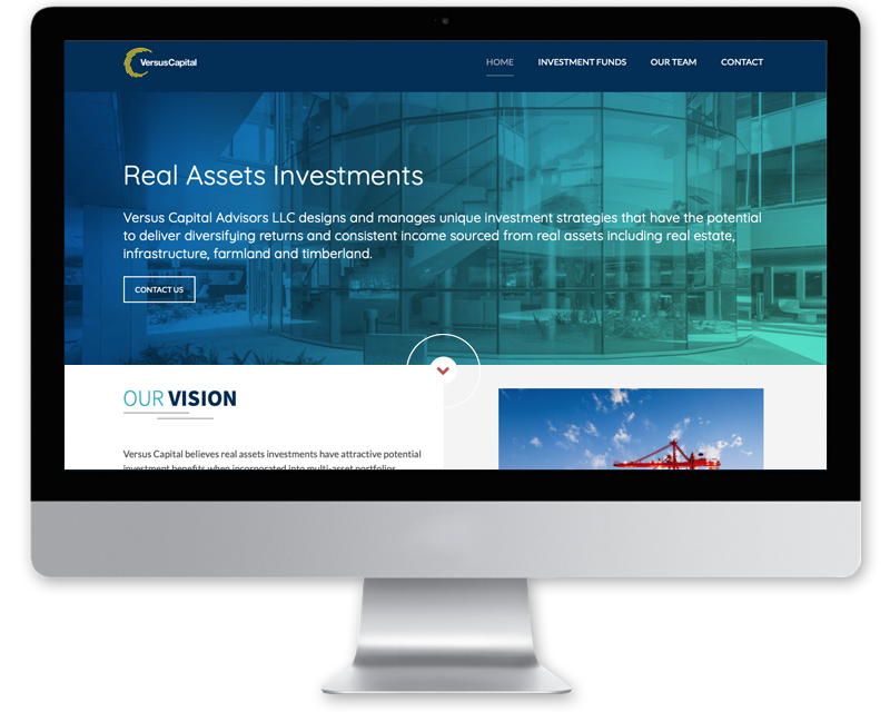 Versus Capital • Website Design